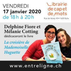 Dédicace de Delphine Fiore et Mélanie Cotting