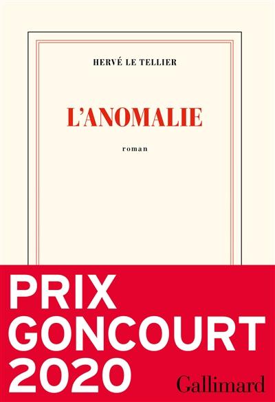 L'anomalie, d'Hervé Le Tellier